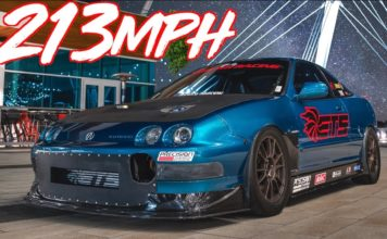 1200HP Acura Integra World's Fastest FWD