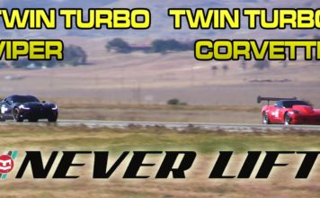 1500hp TT Viper vs 2500hp TT Corvette