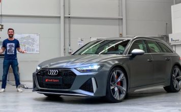 591 hp 2020 Audi RS6 Avant US