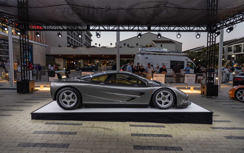 mclaren f1 lm specification pebble beach
